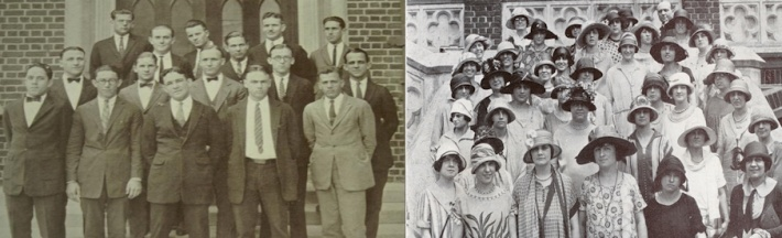 Students in the 1920's